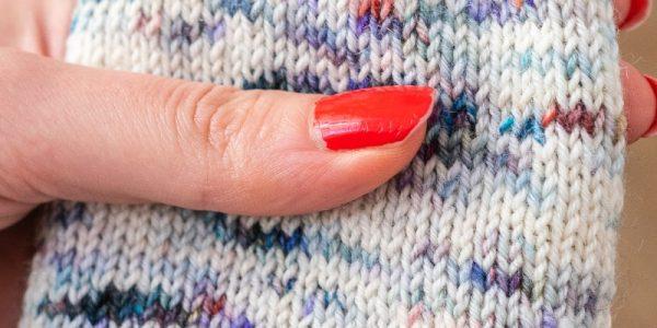 laine mouchetée