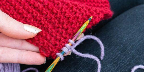 relever les mailles au tricot