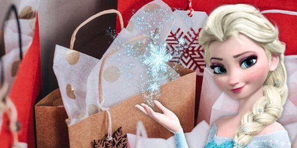 cadeau avec elsa de la reine des neiges