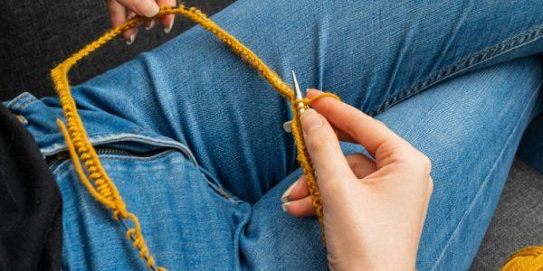 tricot en rond